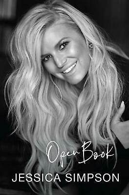 Open Book by Jessica Simpson Paperback Book Free Shipping!