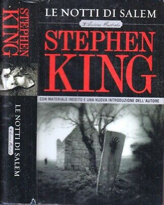LG- LE NOTTI DI SALEM ed. illustrata - STEPHEN KING- MONDOLIBRI--- 2007- CS- YFS