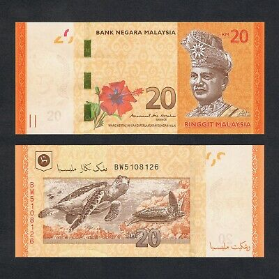 2011 MALAYSIA 1 RINGGIT POLYMER P-51a* UNC /> HIBISCUS ZC REPLACEMENT