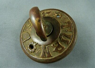 Salvaged aesthetic mechanical doorbell - front twist part only