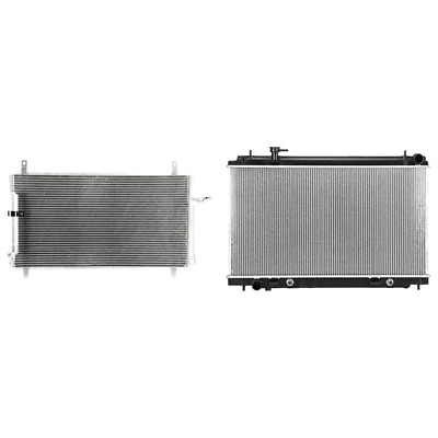 Performance Radiator A//C AC Condenser New for Nissan 350Z 2003-2009 3381