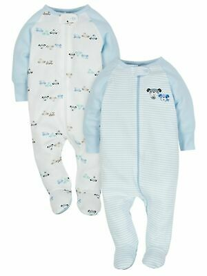 Baby Boy Sleepers 0-3M Wonder Nation By Gerber Sleeper Clothes