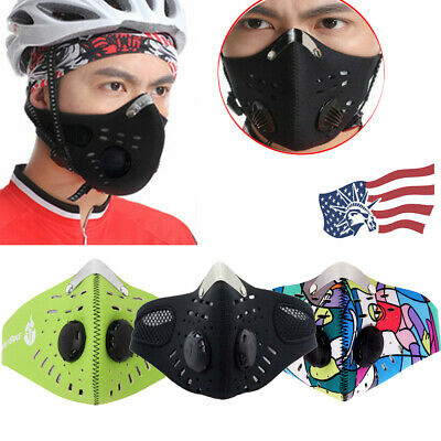 PM2.5 Mask Breathable Anti-dust Haze Reusable Face Mouth Mask Filter Respirator