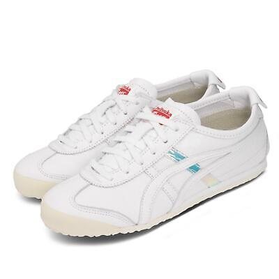 Asics Onitsuka Tiger Mexico 66 White Aurora Red Women Casual Shoes 1182A193-100