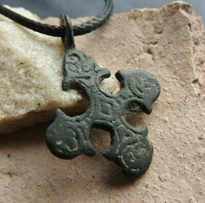 Authentic Viking Cross with the signs of Kievan Rus 10-13 AD