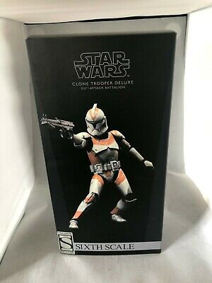 STAR WARS Sixth Scale Figure Sideshow Clone Trooper Deluxe - 212th - Exclusive