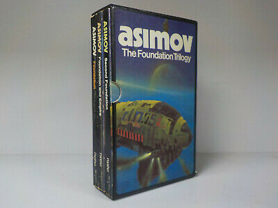Isaac Asimov The Foundation Trilogy Panther Box Set 3 Books ID837
