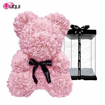 Rose Hand Made Teddy Bear Artificial Forever Best Gift. Valentine's Day Gift