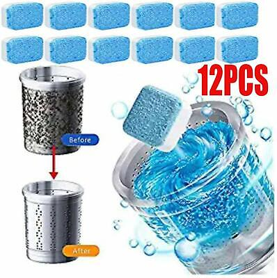 Effervescent Tablet Washer Cleaner Solid Washing Machine Cleaner Deep Cleaning