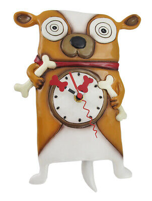 Allen Designs Roofus the Dog Wall Mounted Pendulum Clock