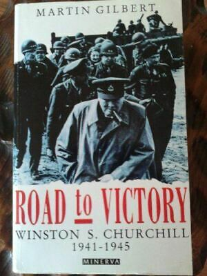 Gilbert, Martin, Churchill, Winston S.: Road to Victory v. 7, Very Good, Paperba