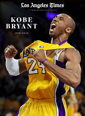 SHIPPING NOW Kobe Bryant - Los Angeles Times Commemorative Issue Special Edition