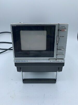 Panasonic Micro Color TV CT-3311 with Power Cord Untested