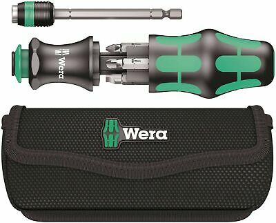 Wera Kraftform Kompakt 25 Combination SCREWDRIVER Driver Magazine and Pouch Set