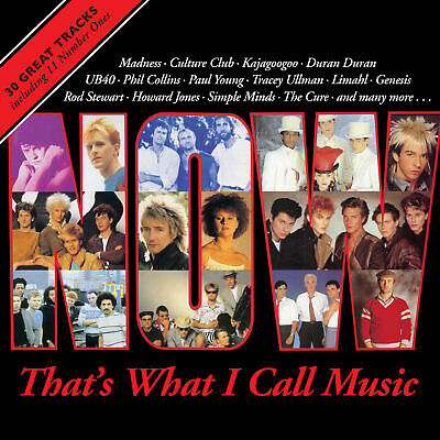 NOW THAT'S WHAT I CALL MUSIC 1 (Now 1) 2 CD - VARIOUS (New Release 20/07/2018)