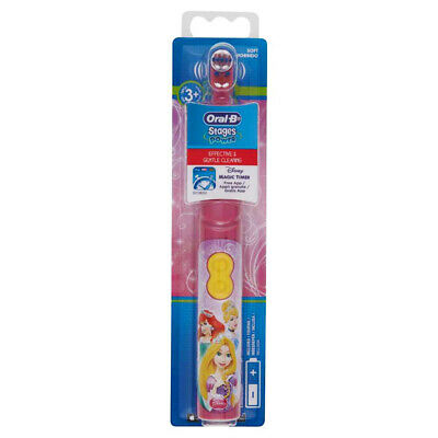 Oral-B Kids Stages Kids Childrens Electric Toothbrush with Timer DISNEY PRINCESS
