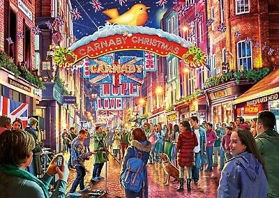 Gibsons - 500 PIECE JIGSAW PUZZLE - Carnaby Street West End London