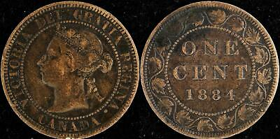 Canada 7 Large cents 1876H +1884+1886+1888+1892+1895+1897 nice and collectible