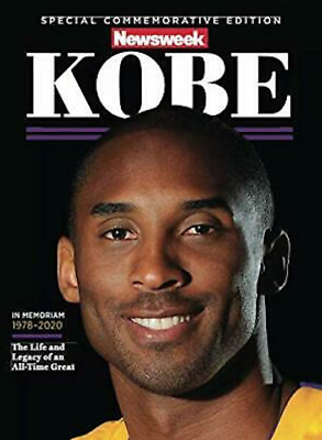 SHIPPING NOW Kobe Bryant NEWSWEEK MAGAZINE Special 2020 Commemorative Issue -New