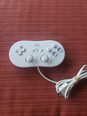 Official Genuine Nintendo Wii White Classic Controller RVL-005 OEM
