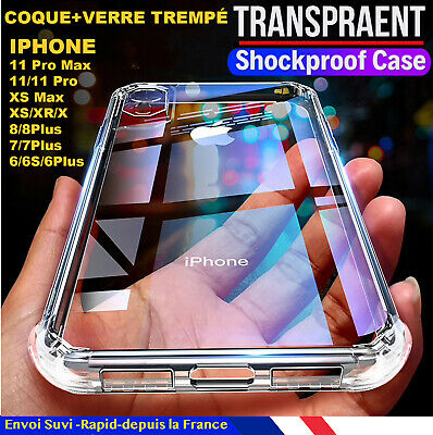 Coque mate Housse Protection Case iPhone 8 7 6S 6 PLUS XR X XS MAX 11 pro Max