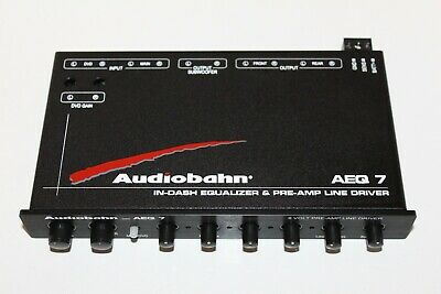 Audiobahn Aeq7  4 Band Equalizer Pre-Amp