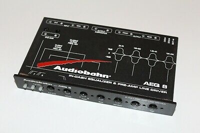 Audiobahn Aeq8  4 Band Equalizer And Crossover Pre-Amp .