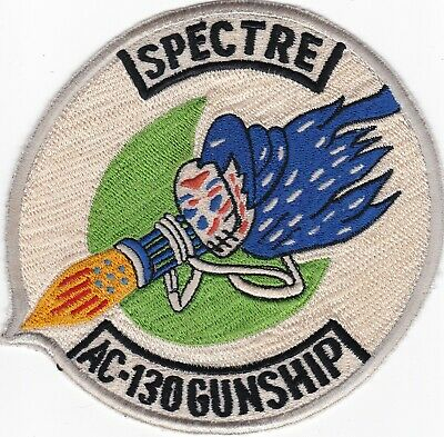 "VIETNAM,USAF AC-130 AAA QUALIFIED /""SPECTRE GUNSHIP/"" PATCH B12"