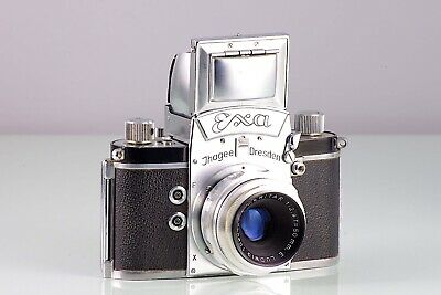 CLASSIC SLR REFLEX EXA 0 VERS 3 + E. LUDWIG MERITAR  50mm f2.9 MADE IN GERMANY