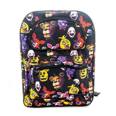 """Five Nights at Freddy's Backpack x-Large School 17"""" Popular Game Bag Travel"""