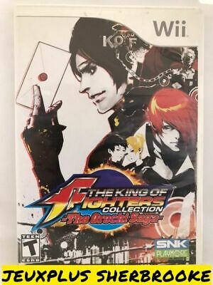 The King of Fighters Collection The Orochi Saga (Nintendo Wii, 2008) (COMPLETE)