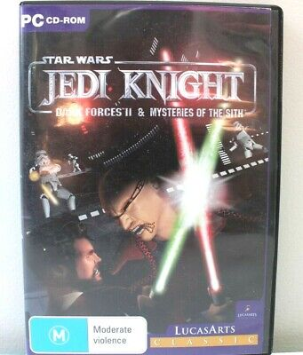 Star Wars Jedi Knight:PC Games Dark Forces II & The Mysteries of the Sith Gamer