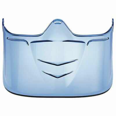 NEW! BOLLE SAFETY 40298 Visor, Blue, Polycarbonate, For Goggles
