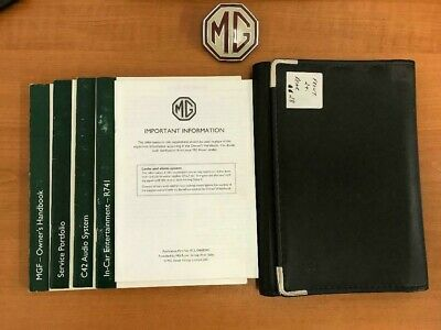 MGF Freestyle Handbook set in folder RCL0332, 0420,0466, 0333ENG PADBOOK1