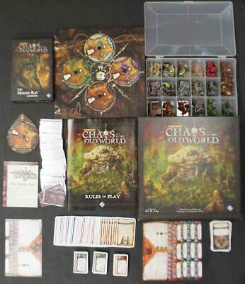 FFG Boardgame Warhammer - Chaos in the Old World Collection - Base Gam Box Fair