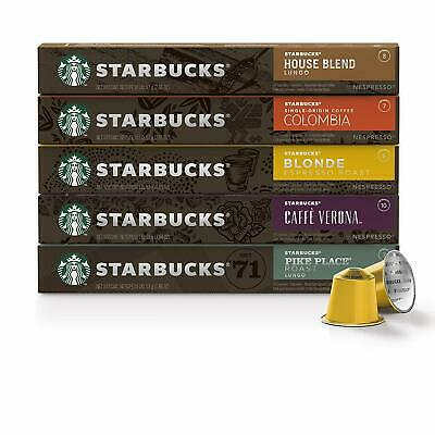 Starbucks by Nespresso, Favorites Variety Pack (50-count single serve capsules,