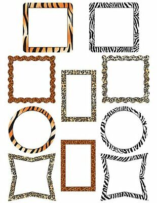 Teaher Created Resoures Piture Frame Animal Prints Aents 5098
