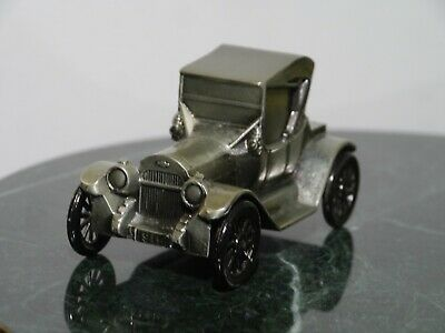 Vintage 1974 Banthrico Metal Car Coin Bank