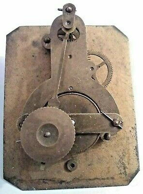 Japy Freres (NOT Signed) French Mini Tick Tack Type Movement Retained Pendulum