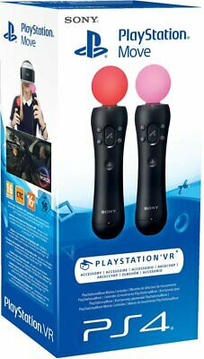 Move Motion Controller PlayStation PS4 VR Twin Pack Kabel 📩 Blitzversand 📩