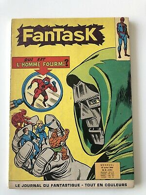FANTASK N° 6 LUG EO TTBE 1969 E0 voir PHOTOS No MARVEL STRANGE