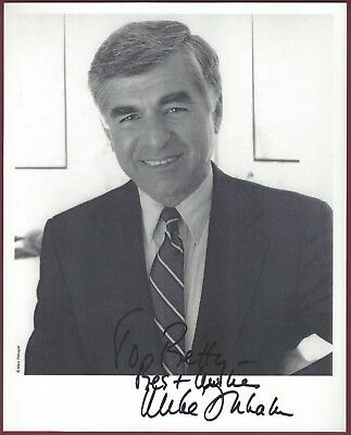 Michael Dukakis, Presidential Candidate, Signed Photo, COA, UACC RD 036
