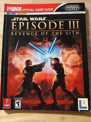 Star Wars Episode Iii Revenge Of The Sith Prima Offical Game Guide 5 09 Picclick