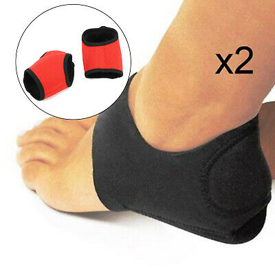 A Pair PLANTAR FASCIITIS COPPER INFUSED COMPRESSION ANKLE SOCKS SWELLING RELIEF