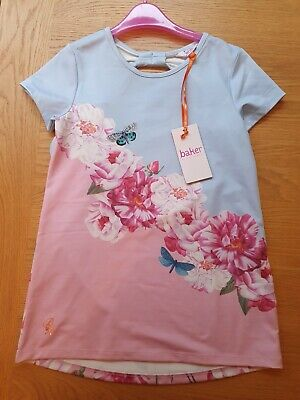 BNWT Girls Baker By Ted Baker Butterfly Top Age 9-10 Years