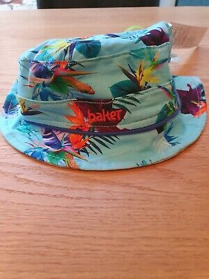 BNWT Boys Baker By Ted Baker Reversible Hat 0-6 Months