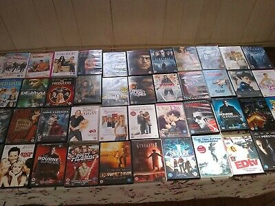 JOBLOT OF 100 DVDs FREE POSTAGE