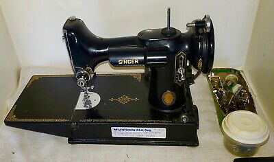 100th ANNIV. A CENTURY OF SEWING SERVICE 1851-1951 FEATHERWEIGHT SEWING MACHINE