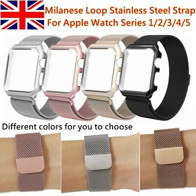 Milanese Magnetic Loop Stainless Steel Strap iWatch Band For Apple Watch 38/40mm