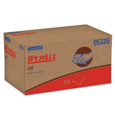 Wypall L10 All Purpose Utility Wipers, 18 Packs/Case